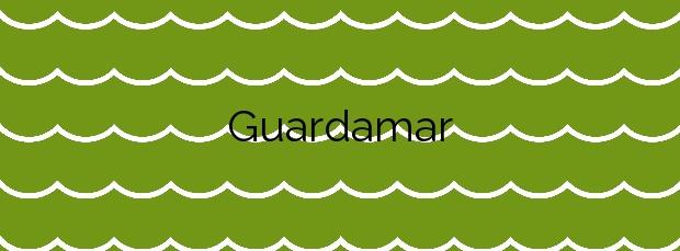 Información de la Playa Guardamar en Guardamar de la Safor