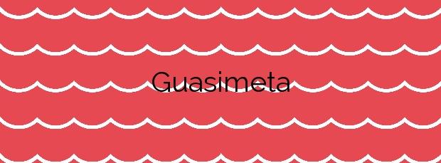 Información de la Playa Guasimeta en Tías