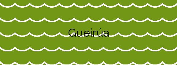 Información de la Playa Gueirúa en Cudillero