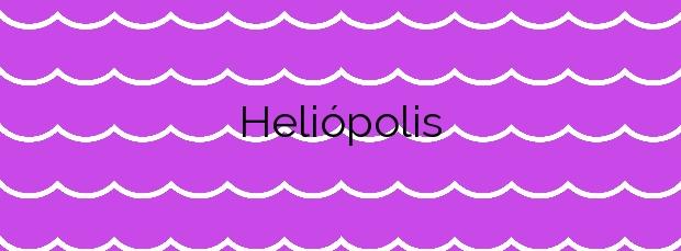 Información de la Playa Heliópolis en Benicasim