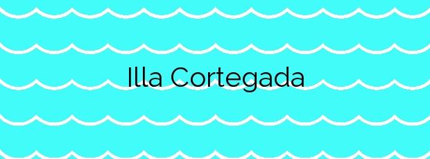 Información de la Playa Illa Cortegada en Vilagarcía de Arousa