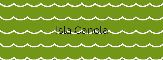 Información de la Playa Isla Canela en Ayamonte