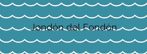Información de la Playa Jondón del Fondón en Mazarrón