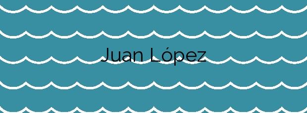 Información de la Playa Juan López en Buenavista del Norte