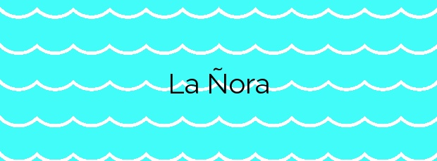 Información de la Playa La Ñora en Villaviciosa