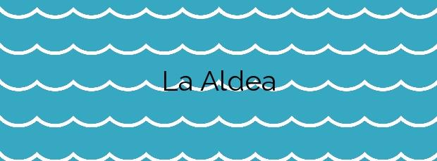 Información de la Playa La Aldea en La Aldea de San Nicolás