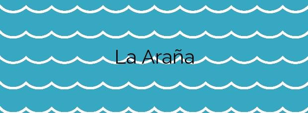 Información de la Playa La Araña en Málaga