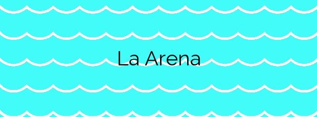 Información de la Playa La Arena en Yaiza