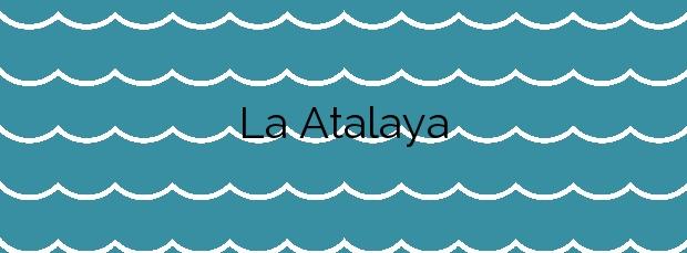 Información de la Playa La Atalaya en Muros de Nalón