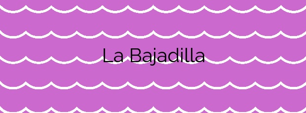 Información de la Playa La Bajadilla en Marbella