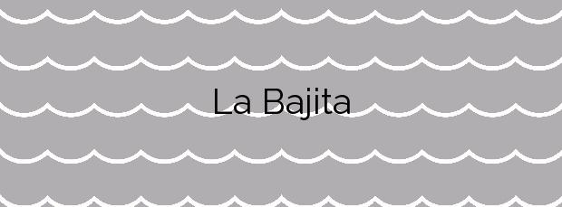 Información de la Playa La Bajita en Villa de Mazo