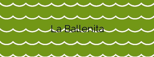 Información de la Playa La Ballenita en Buenavista del Norte
