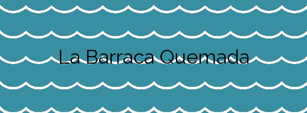 Información de la Playa La Barraca Quemada en San Pedro del Pinatar