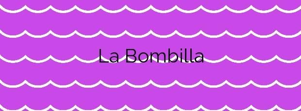 Información de la Playa La Bombilla en Los Llanos de Aridane