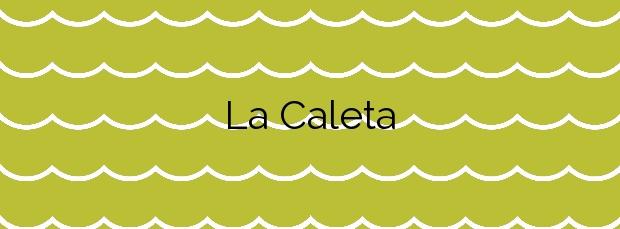 Información de la Playa La Caleta en Nerja