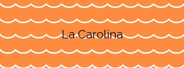 Información de la Playa La Carolina en Águilas