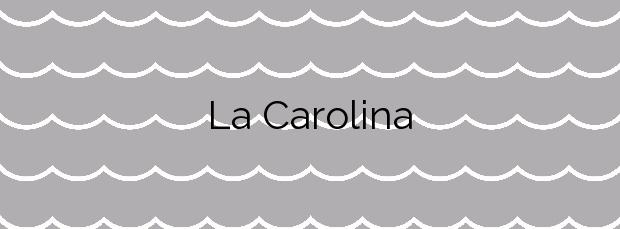 Información de la Playa La Carolina en Pulpí