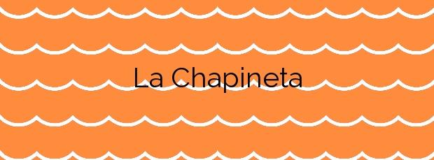 Información de la Playa La Chapineta en Cartagena