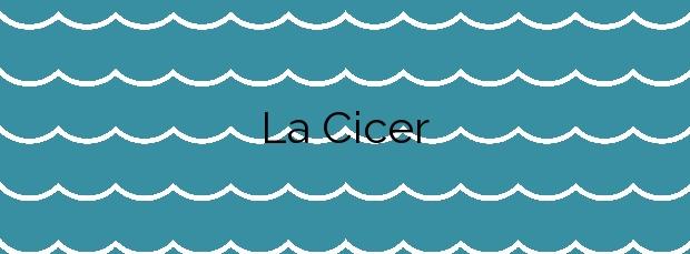 Información de la Playa La Cicer en Las Palmas de Gran Canaria