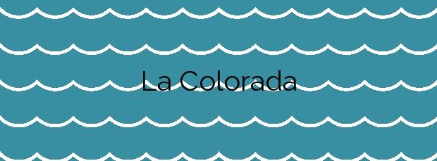 Información de la Playa La Colorada en Yaiza