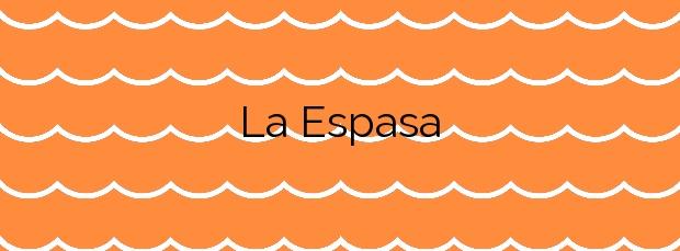 Información de la Playa La Espasa en Colunga