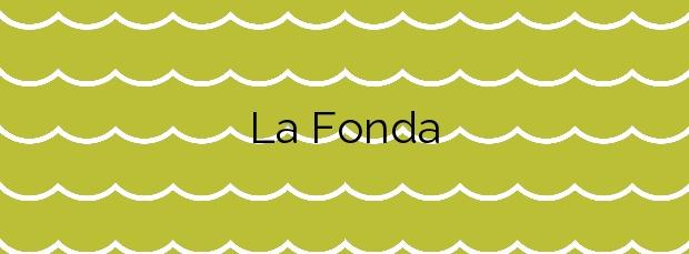 Información de la Playa La Fonda en Alcanar