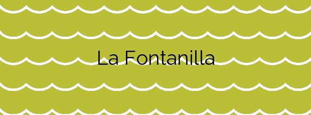 Información de la Playa La Fontanilla en Conil de la Frontera