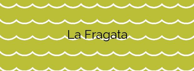 Información de la Playa La Fragata en Sitges