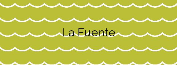 Información de la Playa La Fuente en San Vicente de la Barquera
