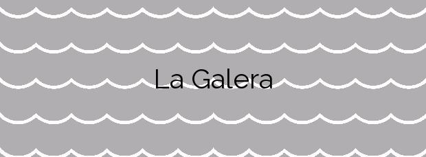 Información de la Playa La Galera en Águilas