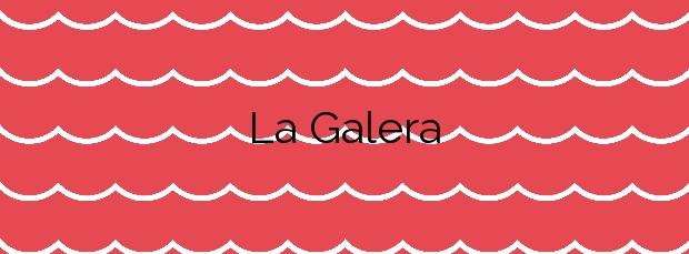 Información de la Playa La Galera en Cartagena