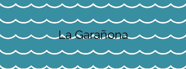 Información de la Playa La Garañona en El Sauzal