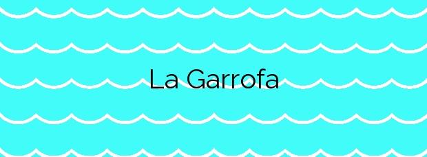 Información de la Playa La Garrofa en Almería