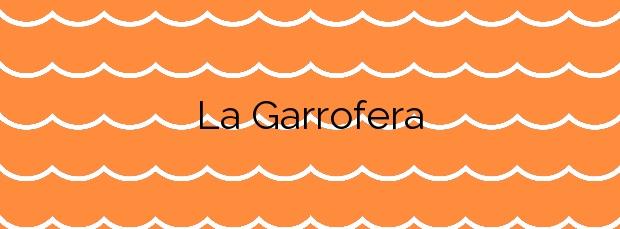 Información de la Playa La Garrofera en Valencia