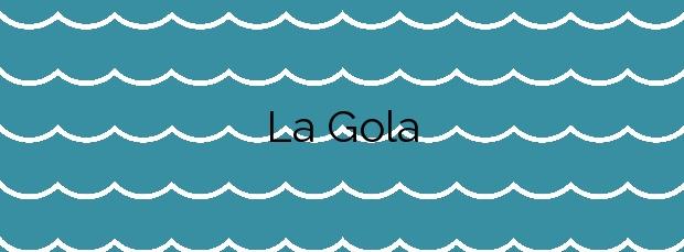 Información de la Playa La Gola en Llançà