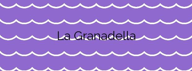 Información de la Playa La Granadella en Xàbia