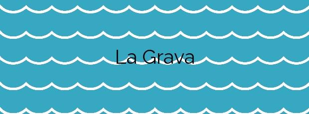 Información de la Playa La Grava en Xàbia