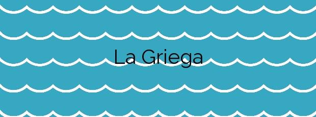 Información de la Playa La Griega en Colunga
