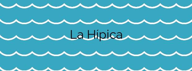 Información de la Playa La Hípica en Melilla