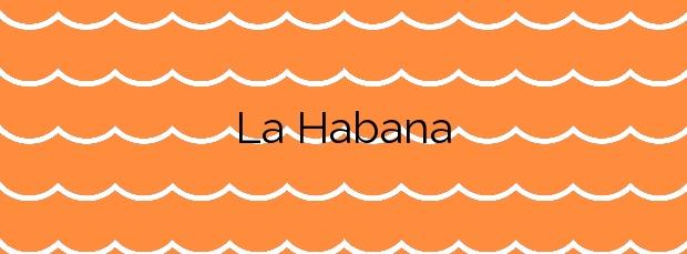 Información de la Playa La Habana en Adra