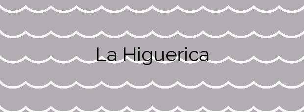 Información de la Playa La Higuerica en Águilas