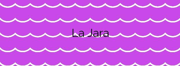 Información de la Playa La Jara en Sanlúcar de Barrameda
