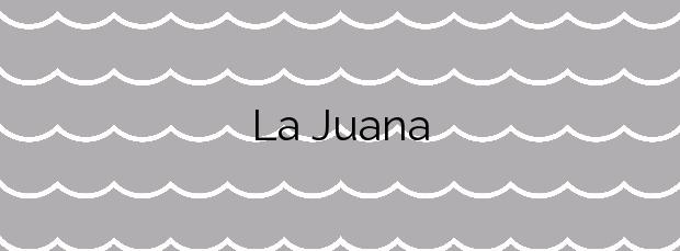 Información de la Playa La Juana en Adra