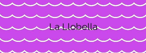 Información de la Playa La Llobella en Benissa