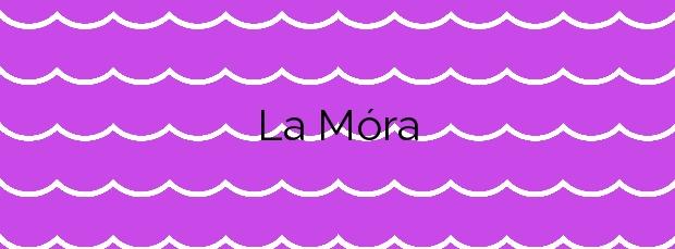 Información de la Playa La Móra en Tarragona