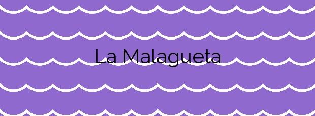 Información de la Playa La Malagueta en Málaga