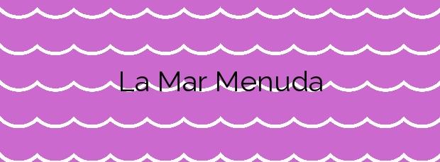 Información de la Playa La Mar Menuda en Tossa de Mar