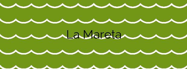 Información de la Playa La Mareta en Granadilla de Abona