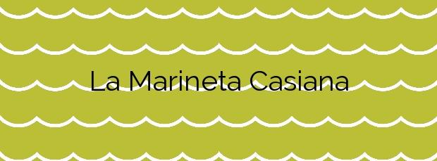Información de la Playa La Marineta Casiana en Dénia