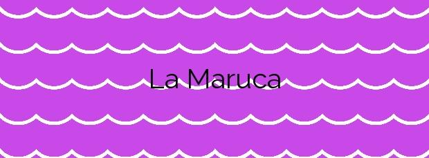 Información de la Playa La Maruca en Santander